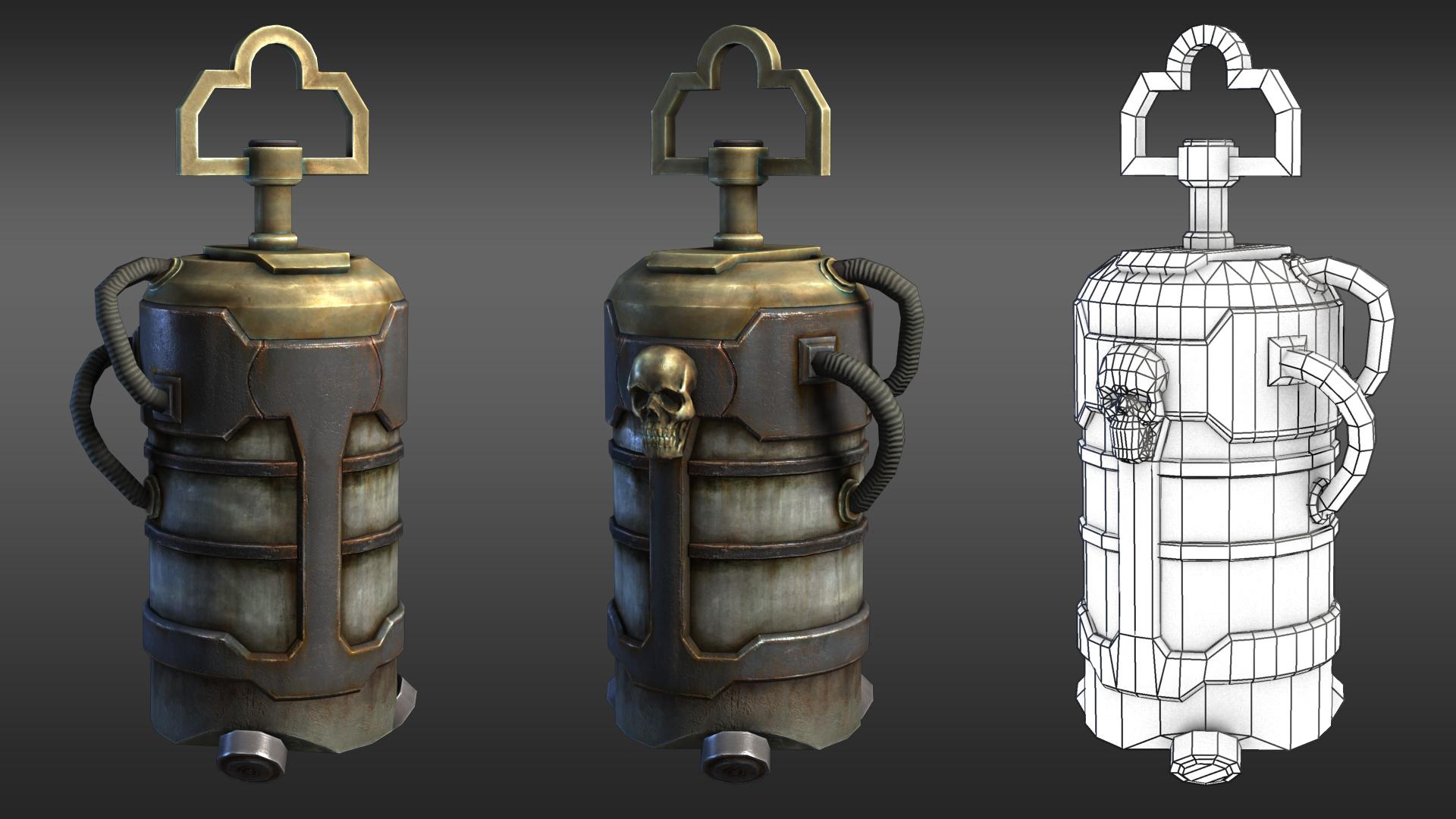 次时代油桶道具